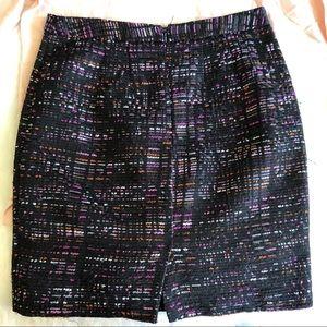 LOFT Skirts - LOFT • Colorful Tweed Skirt